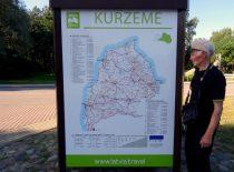 2019-08-23 prie Kuržemės žemėlapio