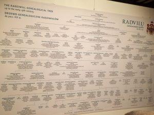 Radvilų giminės genealoginis medis